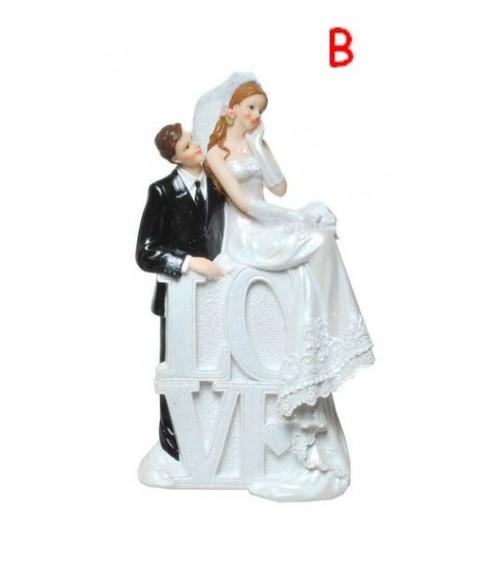 Figurine de mariés LOVE Figurines de mariée ALSACESHOPPING