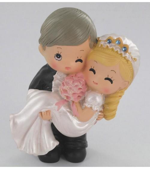 Figurine jeune couple de mariés Figurines de mariée ALSACESHOPPING