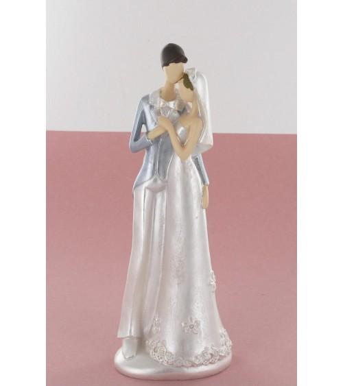 Statuette couple de mariés moderne Figurines de mariée ALSACESHOPPING
