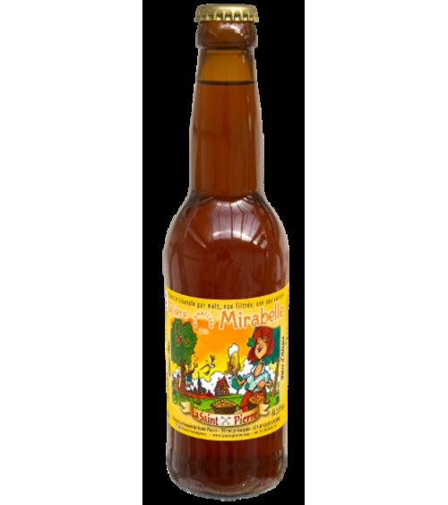 Bière  Mirabelle-Lot de 6 Bouteilles -Brasserie Saint-Pierre Nos bières artisanales ALSACESHOPPING