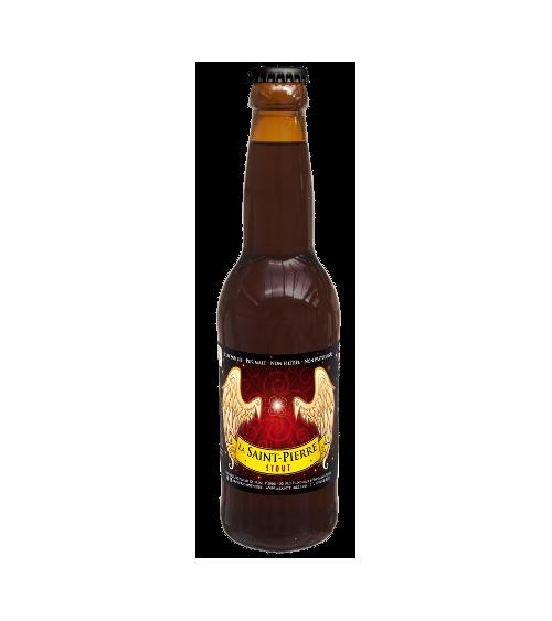 Bière  Stout-Lot de 6 Bouteilles -Brasserie Saint-Pierre Nos bières artisanales ALSACESHOPPING