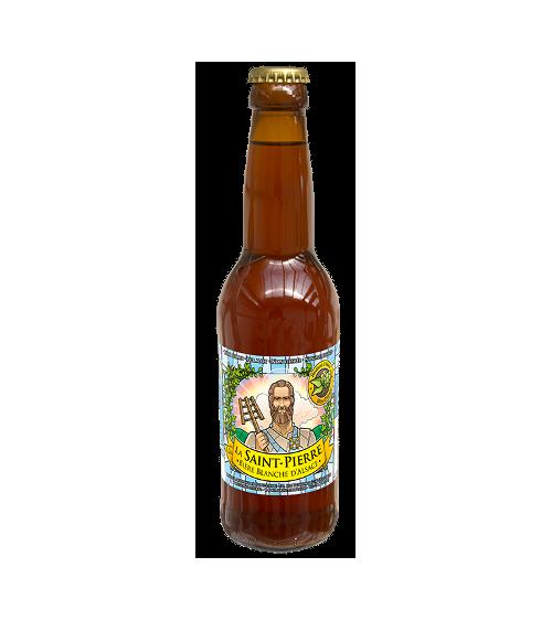 Bière Blanche-Lot de 6 Bouteilles -Brasserie Saint-Pierre Nos bières artisanales ALSACESHOPPING