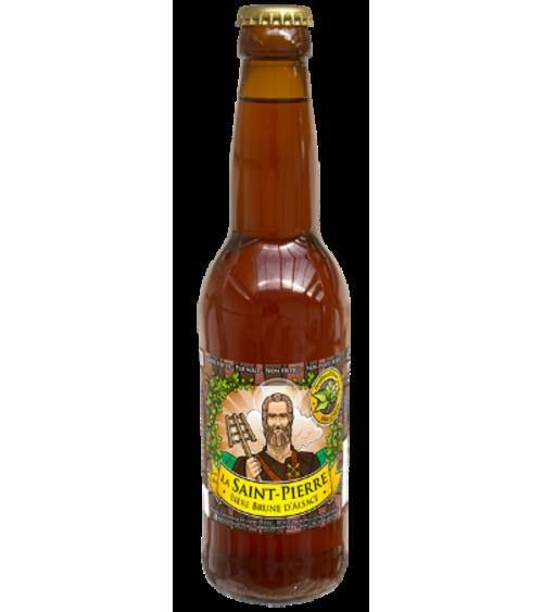 Bière Brune-Lot de 6 Bouteilles -Brasserie Saint-Pierre Nos bières artisanales ALSACESHOPPING