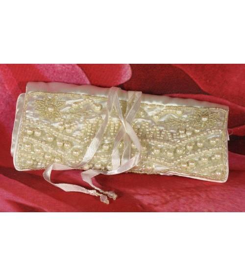 Pochette à bijoux en satin Coffrets à bijoux ALSACESHOPPING