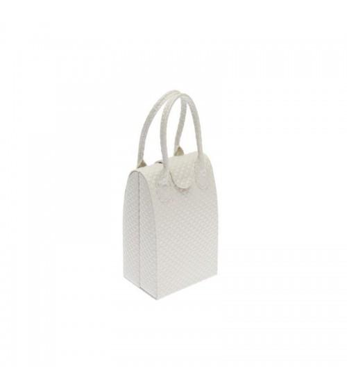 Coffret à bijoux blanc brillant Bijoux et coffrets à bijoux ALSACESHOPPING