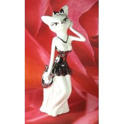 Figurine chat sexy en...