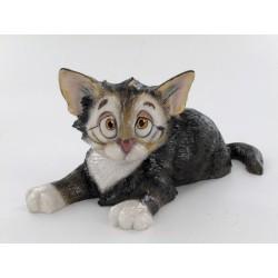Statuette chat humoristique...