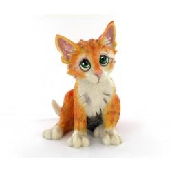 Statuette chat mimi
