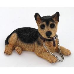 Figurine bébé berger allemand