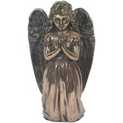 Statuette ange priant à genou