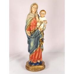 Statue vierge marie avec...