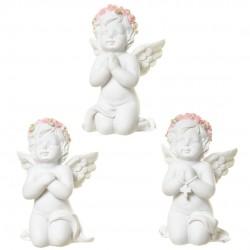 Lot de 6 angelots à genou