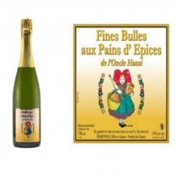 FINES BULLES DE L?ONCLE HANSI AUX EPICES A PAINS D?EPICES      Produit de Saison La Maison ZEYSSOLFF ALSACESHOPPING