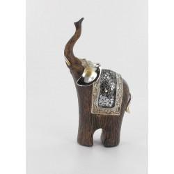 Figurine éléphant Ghana 19 cm