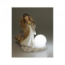 Ange lumineux à led Statuettes et personnages ALSACESHOPPING