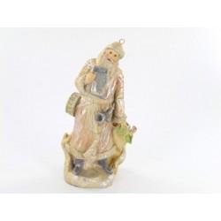 Statuette Père Noel rétro Statuettes et personnages ALSACESHOPPING