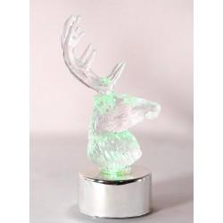 Mini rennes à led couleurs changeantes, le lot de 4 Animations et guirlandes lumineuses ALSACESHOPPING