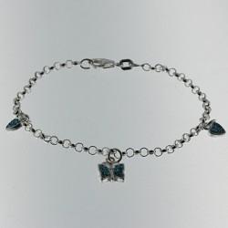 Bracelet papillon enfant Un cadeau pour qui ALSACESHOPPING