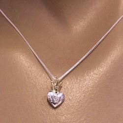 Pendentif coeur argent Bijoux et coffrets à bijoux ALSACESHOPPING
