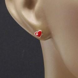 Boucles d'oreilles enfant coeur Bijoux et coffrets à bijoux ALSACESHOPPING