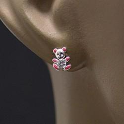 Boucles d'oreilles ourson Bijoux et coffrets à bijoux ALSACESHOPPING