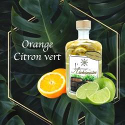 Rhum Orange Citron vert ,L'arrangé des Alchimistes