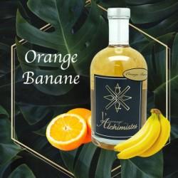 Rhum Orange Banane ,L'arrangé des Alchimistes